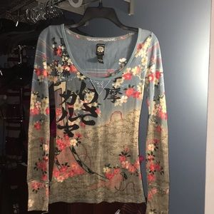 Lucky brand long sleeve tee